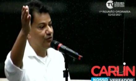 Carlin apresenta pedido de isenção de IPTU para aposentados e atingidos por chuvas