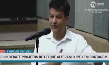Carlin apresenta emendas aos projetos da prefeitura sobre o IPTU