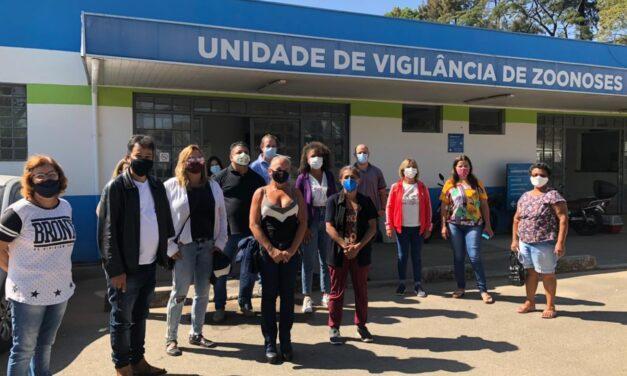 Vereadores visitam Centro de Controle de Zoonoses