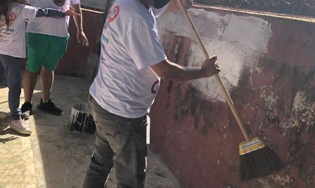 2ª Edição da Brigada da Limpeza é sucesso na E.E Renato Azeredo