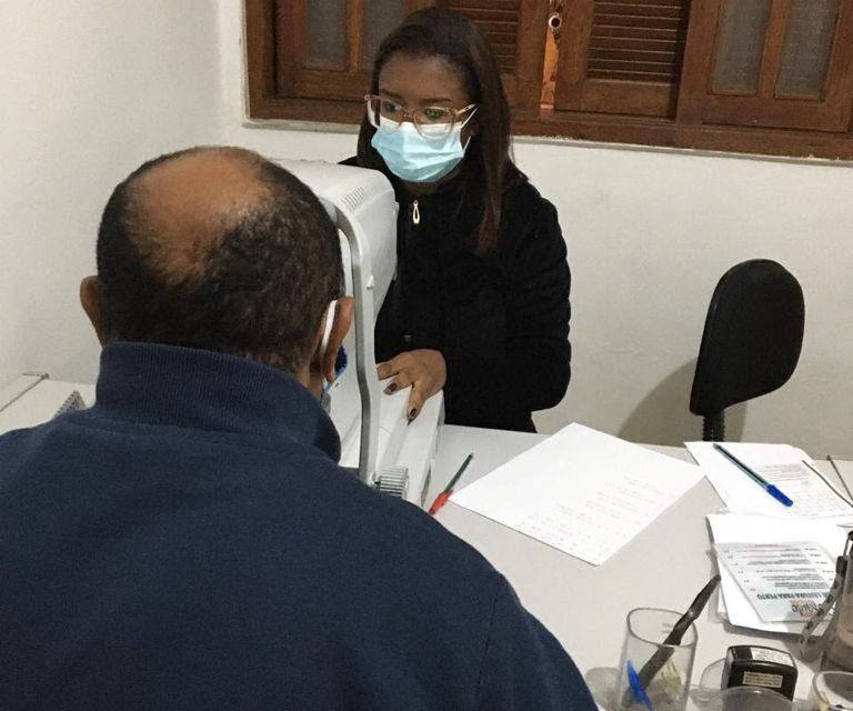 Mutirão oftalmológico atende cerca de 100 pessoas