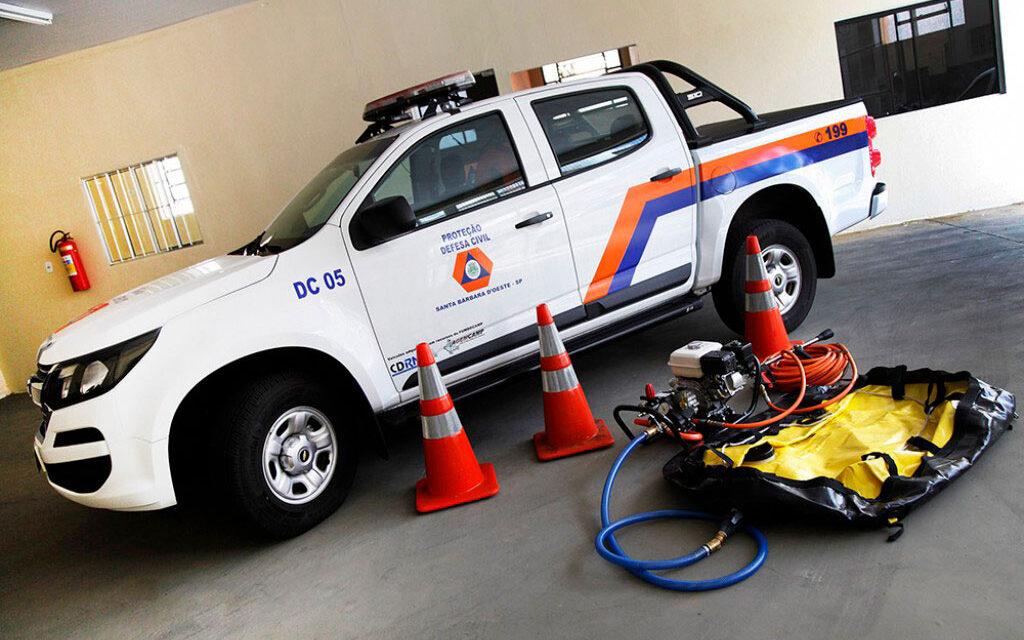 Governo divulga resultado dos municípios contemplados com kits da Defesa Civil